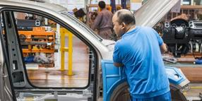 VW-Produktion in China.