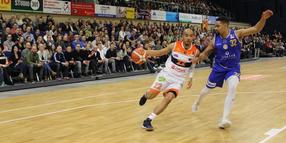 Will mit den Seawolves ins Finale: Chris Frazier (am Ball).