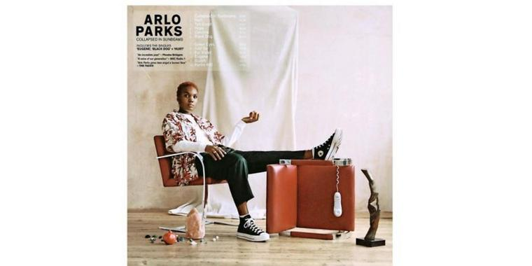 """Albumcover: Arlo Parks - """"Collapsed in sunbeams"""""""