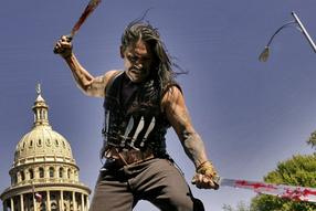 "Am 4. November startet Robert Rodriguez' Fake-Trailer-Verfilmung ""Machete"" in den deutschen Kinos."