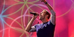 Coldplay-Frontmann Chris Martin ist beim Global-Citizen-Festival in Hamburg dabei.