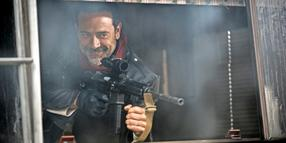 "Jeffrey Dean Morgan als Negan in ""The Walking Dead""."