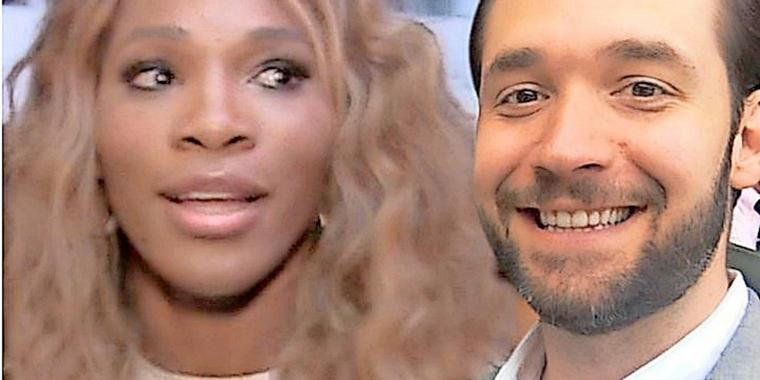 Tenniskönigin Serena Williams und ihr Traumprinz Alexis Ohanian.