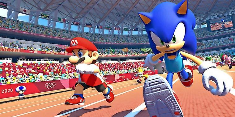 """""""Mario & Sonic at the Olympic Games Tokyo 2020"""" nimmt das Thema E-Sport sehr wörtlich."""