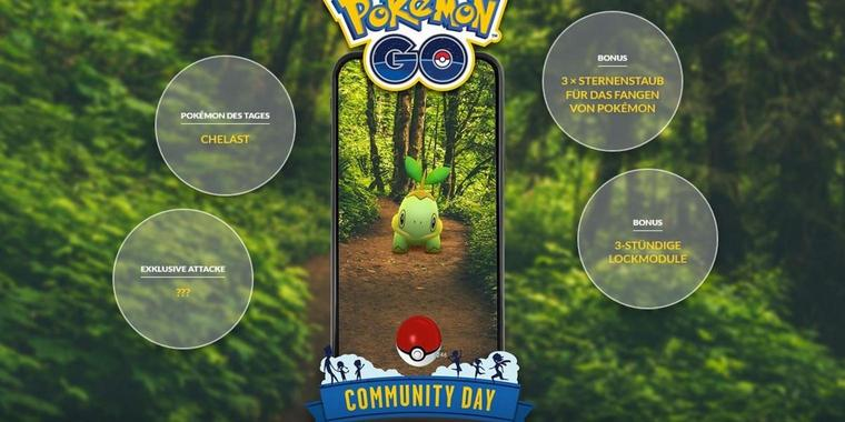 Pokémon GO Community Day im September 2019.