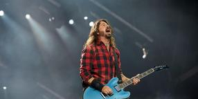 Foo-Fighters-Frontmann Dave Grohl bei Rock am Ring. (Archiv)