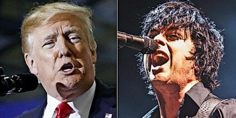 Donald Trump und Billie Joe Armstrong von Green Day