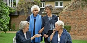 Aristokratinnen: Maggie Smith, Joan Plowright, Eileen Atkins und Judi Dench.