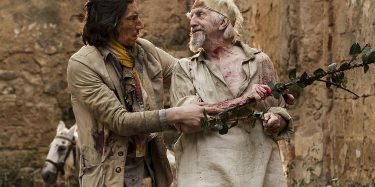 Knappe und Ritter: Toby (Adam Driver, l.), Don Quixote (Jonathan Pryce).