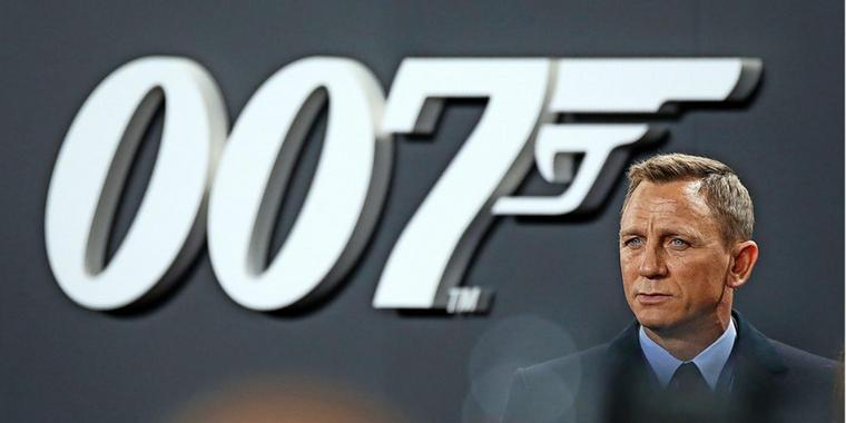 """James Bond""-Darsteller Daniel Craig."