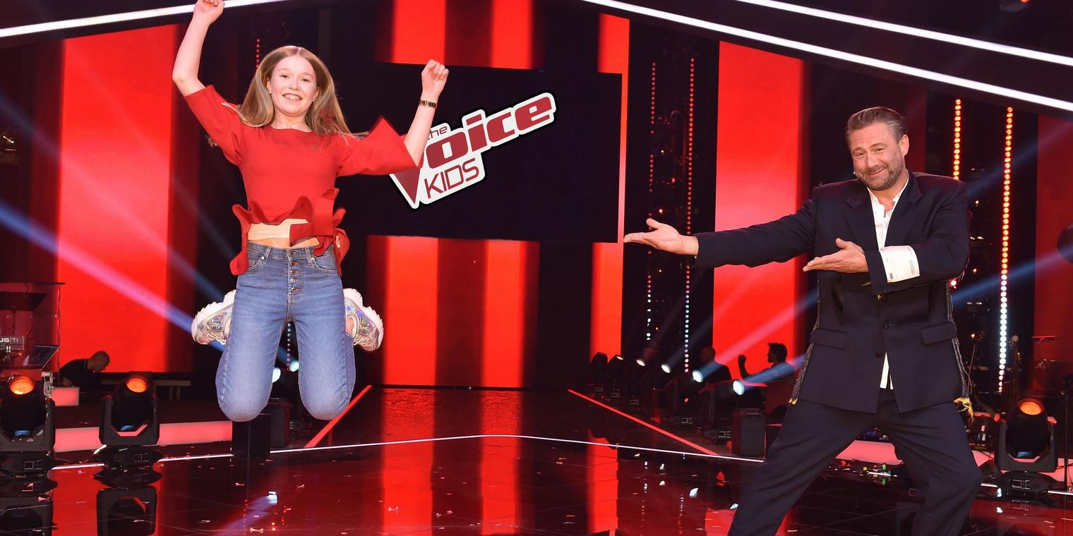 "Powerstimme Lisa-Marie (15, Hamburg) aus Team Sasha gewinnt ""The Voice Kids"" 2020."