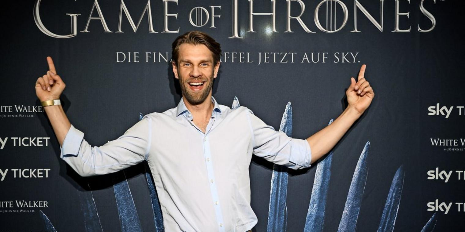 "Chef der Goldenen Kompanie: Marc Rissmann spielt Harry Strickland in ""GoT"", den Mann, auf den die böse Königin Cersei ihre Hoffnungen setzt."