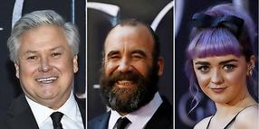 "Conleth Hill, Rory McCann und Maisie Williams sehen etwas anders aus als ihre Rollen in ""Game of Thrones"""