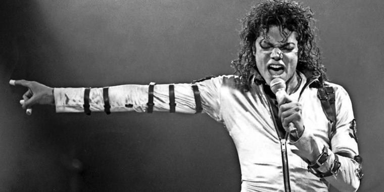 "Der ""King of Pop"": Michael Jackson. Sein Album ""Thriller"" war das meistverkaufte US-Album aller Zeiten. Jetzt haben in ""The Eagles"" mit ""Their Greatest Hits (1971-1975)"" vom Thron gestoßen."