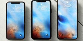 iPhone-Parade: das iPhone XS, iPhone XR und das iPhone XS Max (von links)in New York.