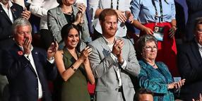 Harry und Meghan bei den Invictus Games in Sydney.