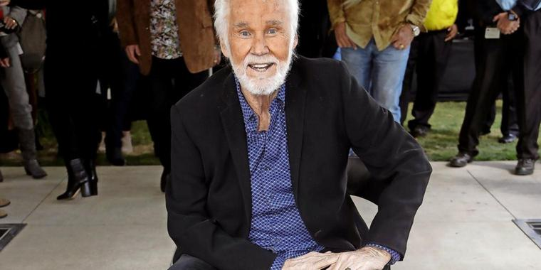 Countrylegende Kenny Rogers.