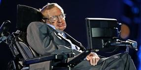 Stephen Hawking im August 2012 in London.