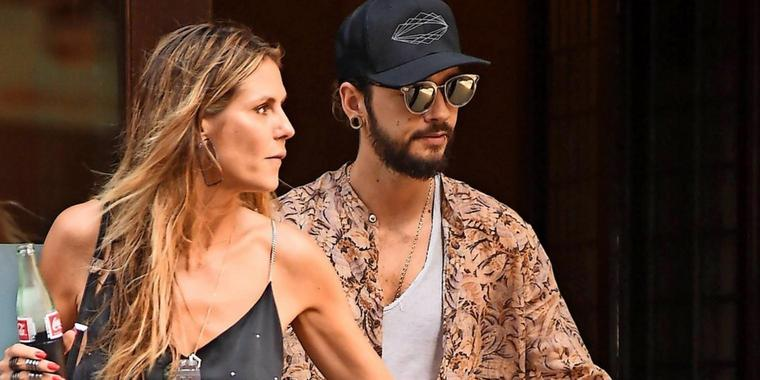 Heidi Klum und Tom Kaulitz in New York.