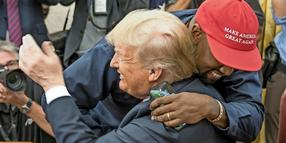 Am 11. Oktober besuchte Kanye West Donald Trump im Oval Office
