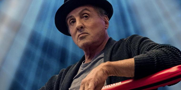 """Sylvester Stallone als Rocky im Film """"Creed II""""."""