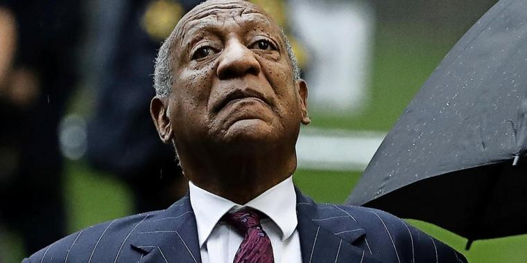US-Entertainer Bill Cosby ist seit gestern in Haft.
