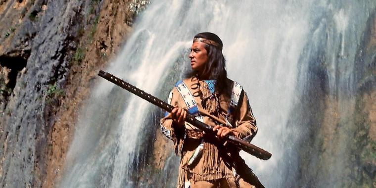 Rassistisch? Pierre Brice als Winnetou