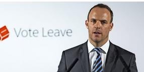 Brexit-Minister Dominic Raab.