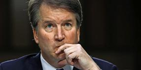 Brett Kavanaugh bei einer Befragung in Washington.