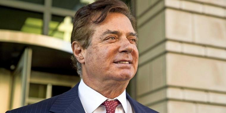 Paul Manafort im November 2017 in Washington (Archivfoto).