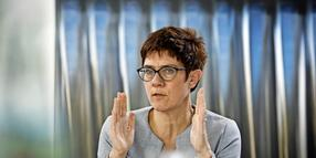 Interview mit Annegret Kramp-Karrenbauer