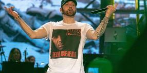 Kein Fan von Donald Trump: US-Rapper Eminem.