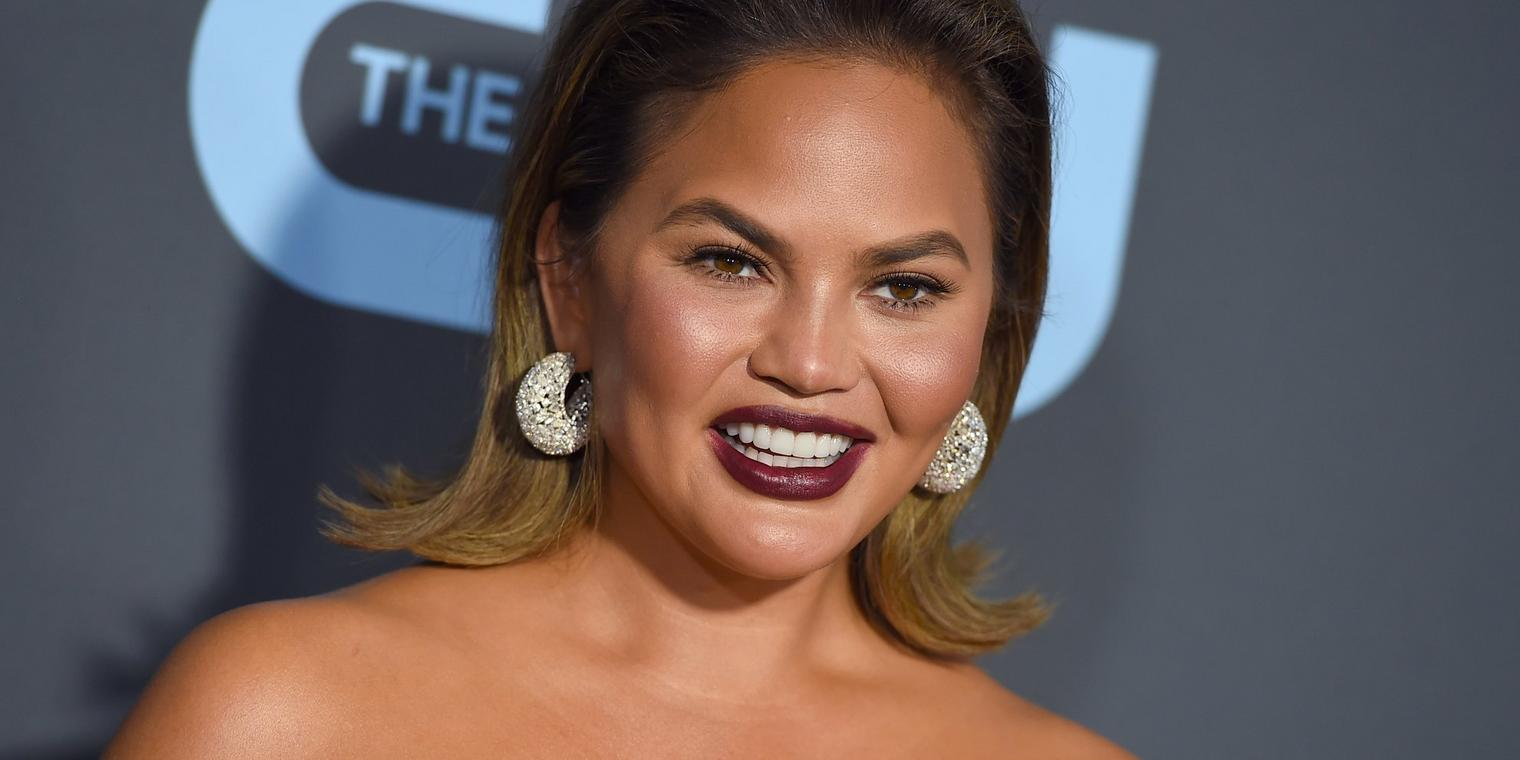 Das Model Chrissy Teigen.