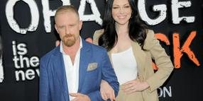 "Ben Foster and Laura Prepon 2019 bei der Premiere der neuen ""Orange Is The New Black""-Staffel."
