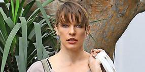 Hollywood-Star Milla Jovovich.