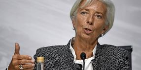 Christine Lagarde, Direktorin des Internationalen Währungsfonds.