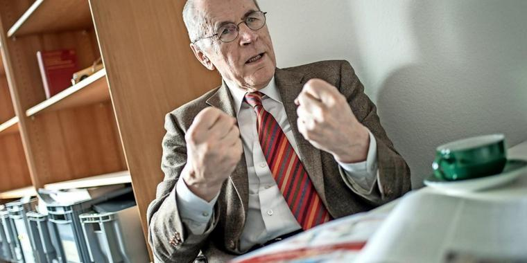 Der Kriminologe Christian Pfeiffer.