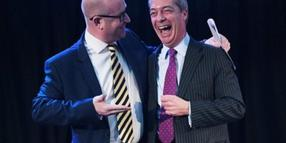Nigel Farage (l.) und Paul Nuttall.