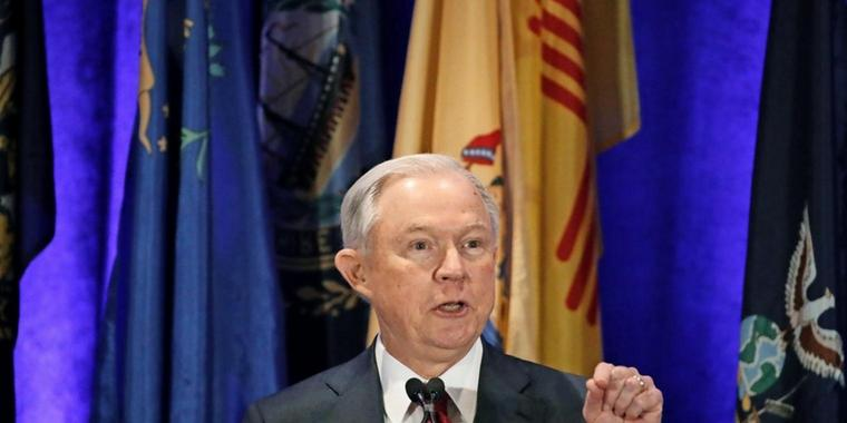 US-Justizminister Jeff Sessions.