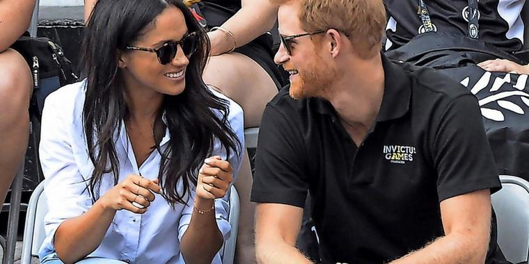 Meghan Markle und Prinz Harry in Toronto.