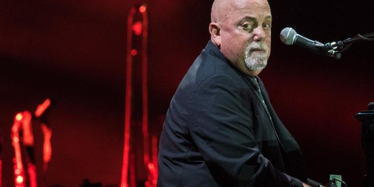 Pianist Billy Joel.