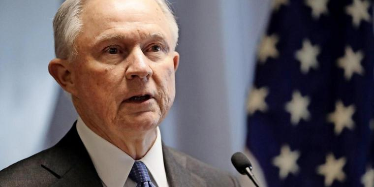 Justizminister Jeff Sessions.