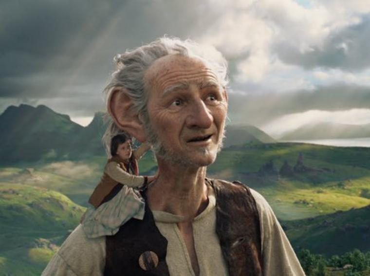 "Filmszene aus ""BFG - Big Friendly Giant"""