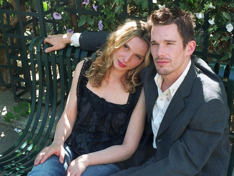 "Julie Delpy und Ethan Hawke in ""Before Sunset"" von Richard Linklater."