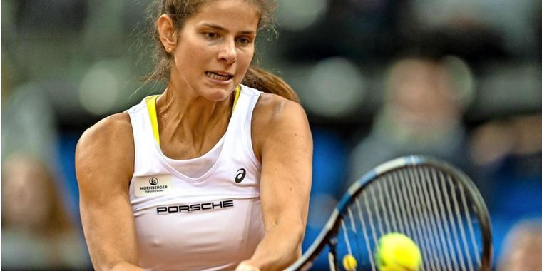 Gut in Form: Julia Görges.
