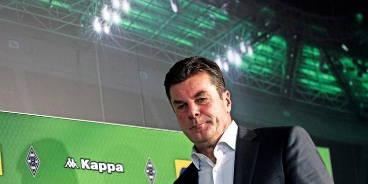 Gladbach Trainer Dieter Hecking (52)