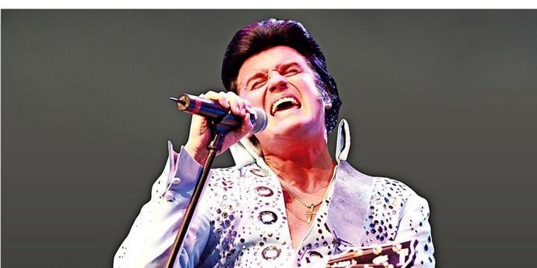 A Tribute to the King: Rusty kommt mit seiner Las Vegas Show nach Gifhorn.