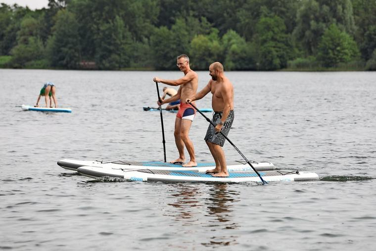 Stand-Up-Paddling im Allersee